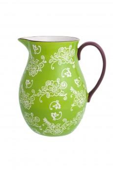 Кувшин «Цветочная симфония на зеленом»