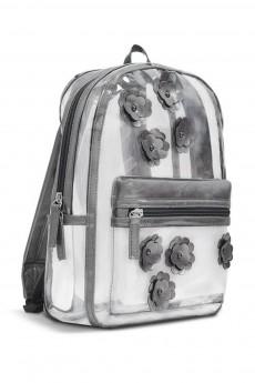 Рюкзак «ГРАФИТОВЫЕ ЦВЕТЫ»
