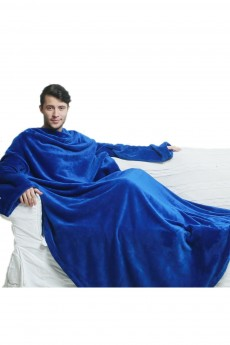 Плед с рукавами «Синий»