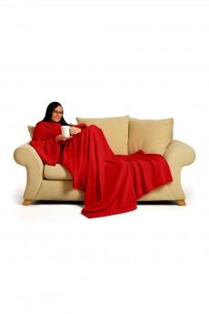 Плед с рукавами «Красный»