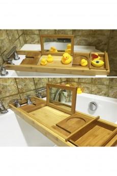 Полка для ванной раздвижная «Бамбук»