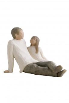 Фигурка «Father & Daughter /Отец и дочь»
