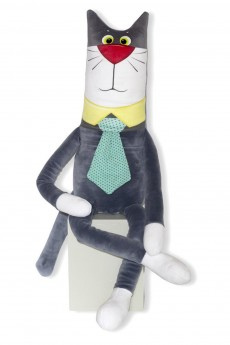 Антистрессовая игрушка «Кот-джентльмен»