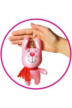 Антистрессовая игрушка-брелок «Зайчик»