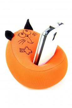 Антистрессовая подставка под телефон «Кот»