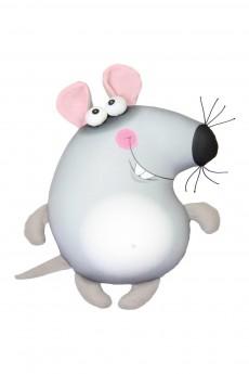 Антистрессовая игрушка-подушка «Мышь»