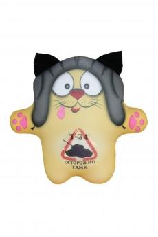 Антистрессовая игрушка «Коты танкисты»