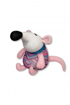 Антистрессовая игрушка «Мышь в свитере»