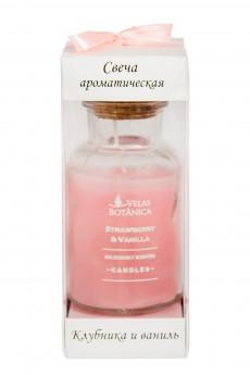 Свеча ароматическая «Клубника и ваниль»