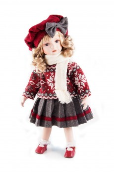 Кукла коллекционная «Ученица»