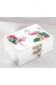 Шкатулка для хранения «Фламинго»