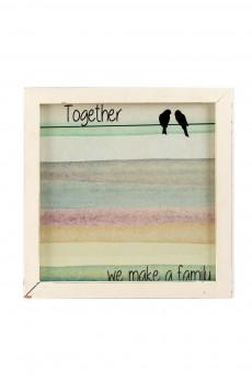 Мемо-доска «Вместе мы семья»
