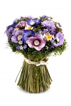 Композиция цветочная «Анемоны»