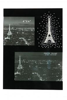Фоторамка на 2 фото «Ночной Париж»