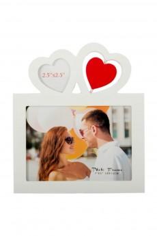 Фоторамка для 2 фото «Сердца»