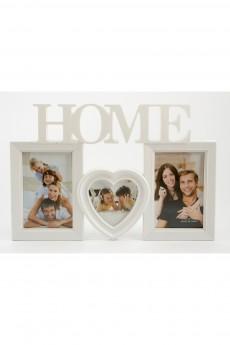 Фоторамка для 3 фото «Home»