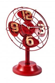 Часы настольные «Ретро вентилятор»