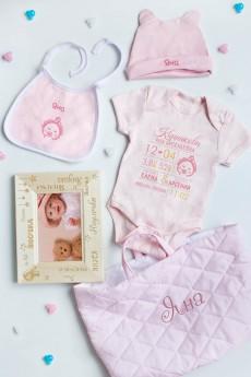 Подарочный набор для малыша с Вашим именем «Имя»