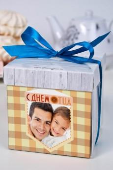 Печенье с предсказанием именное «С днем отца»