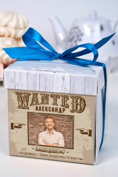 Печенье с предсказанием именное «Wanted»