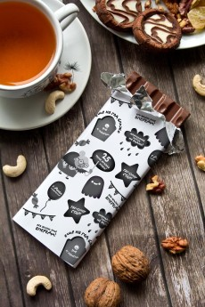 Шоколад с Вашим именем «Злобный День рождения»