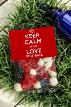 Мармелад «Keep calm and love football»