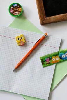 Ручка с нанесением текста «Яркие краски»
