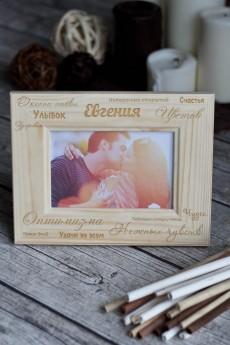 Рамка для фото с вашим текстом «Теплые пожелания»