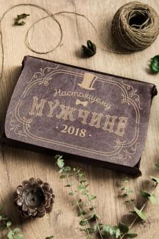 Подарочный набор чая и мармелада с Вашим текстом «Настоящему мужчине»