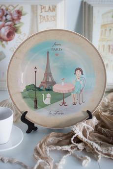 Тарелка декоративная с вашим текстом «Города»