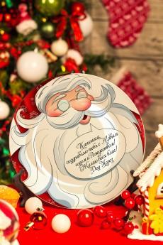 Тарелка новогодняя с Вашим текстом «Исполняю желания»