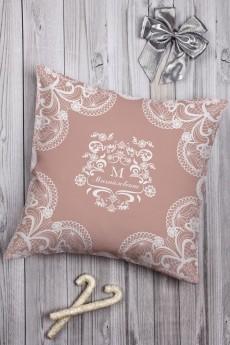 Подушка декоративная с Вашим именем «Кружева»
