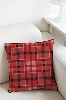 Наволочка «Красная шотландка»