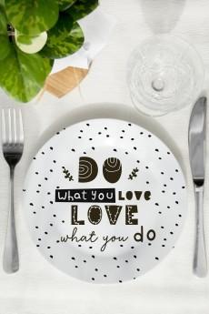 Тарелка «Do what you love»