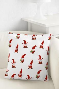 Подушка декоративная «Санта-гномики»