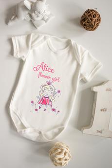 Боди для малыша с вашим текстом «Принцесса»