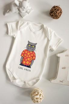 Боди для малыша с вашим текстом «Модник»