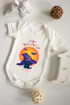 Боди для малыша с вашим текстом «Мой первый Хэллоуин»