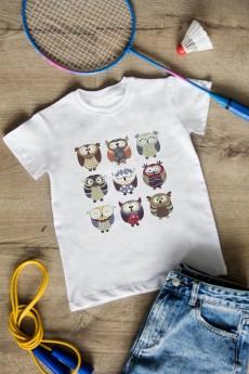 Футболка детская «Funny owls»