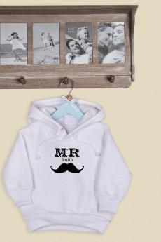 Толстовка  детская с Вашим текстом «Mr & Mrs Smith»