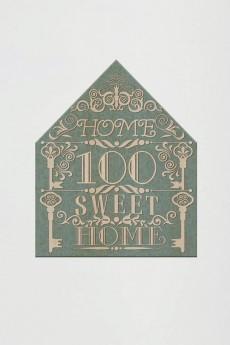 Табличка на дверь с вашим текстом «Кружевной домик»