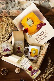 Набор сладостей с Вашим текстом «Винтажная мышь»