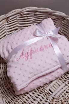 Одеяло с именной вышивкой «Имя»