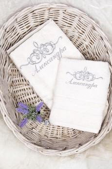 Набор полотенец с именной вышивкой «Именное»