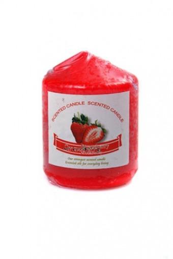 Свеча ароматиз Красный Куб 40.000