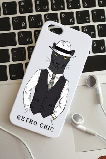 Чехол для iphone 5 с вашим текстом