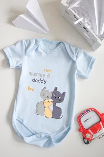 Боди для малыша с вашим текстом