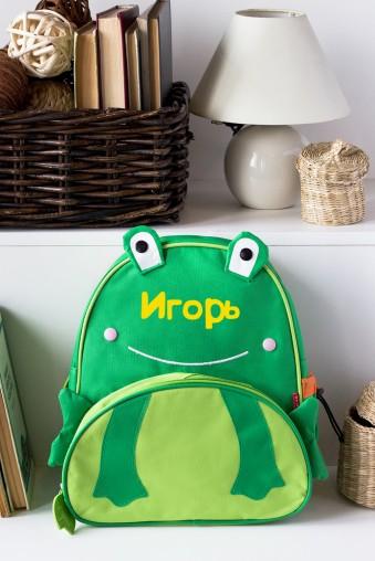 Рюкзак с нанесением текста