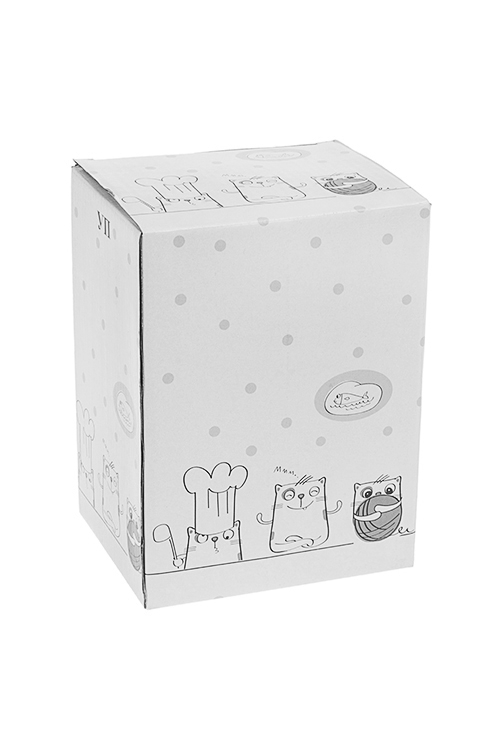 """Емкость для сыпучих продуктов """"Котики"""" от Красный куб"""