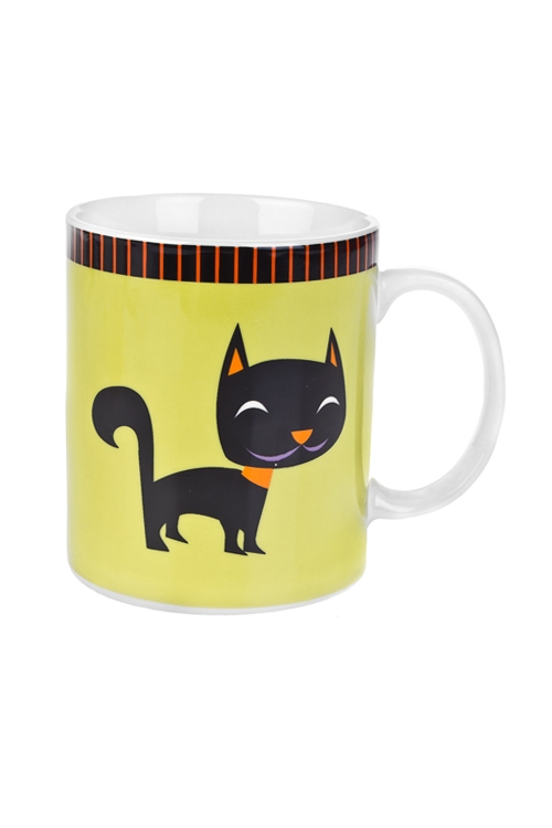Кружка Черный котКружки<br>350мл, керам.<br>